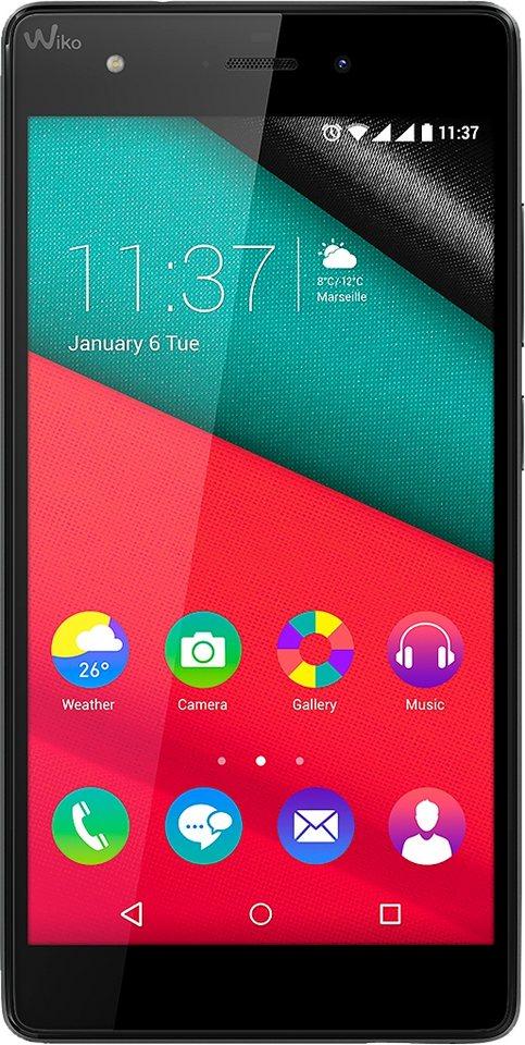 Wiko Pulp 3G 16GB Smartphone, 12,7 cm (5 Zoll) Display, Android 5.1 Lollipop, 13,0 Megapixel in braun