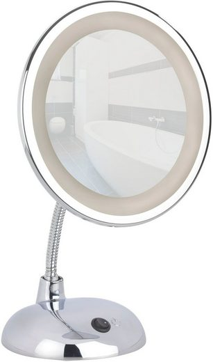 wenko led kosmetikspiegel style chrom standspiegel 3 fach vergr erung online kaufen otto. Black Bedroom Furniture Sets. Home Design Ideas