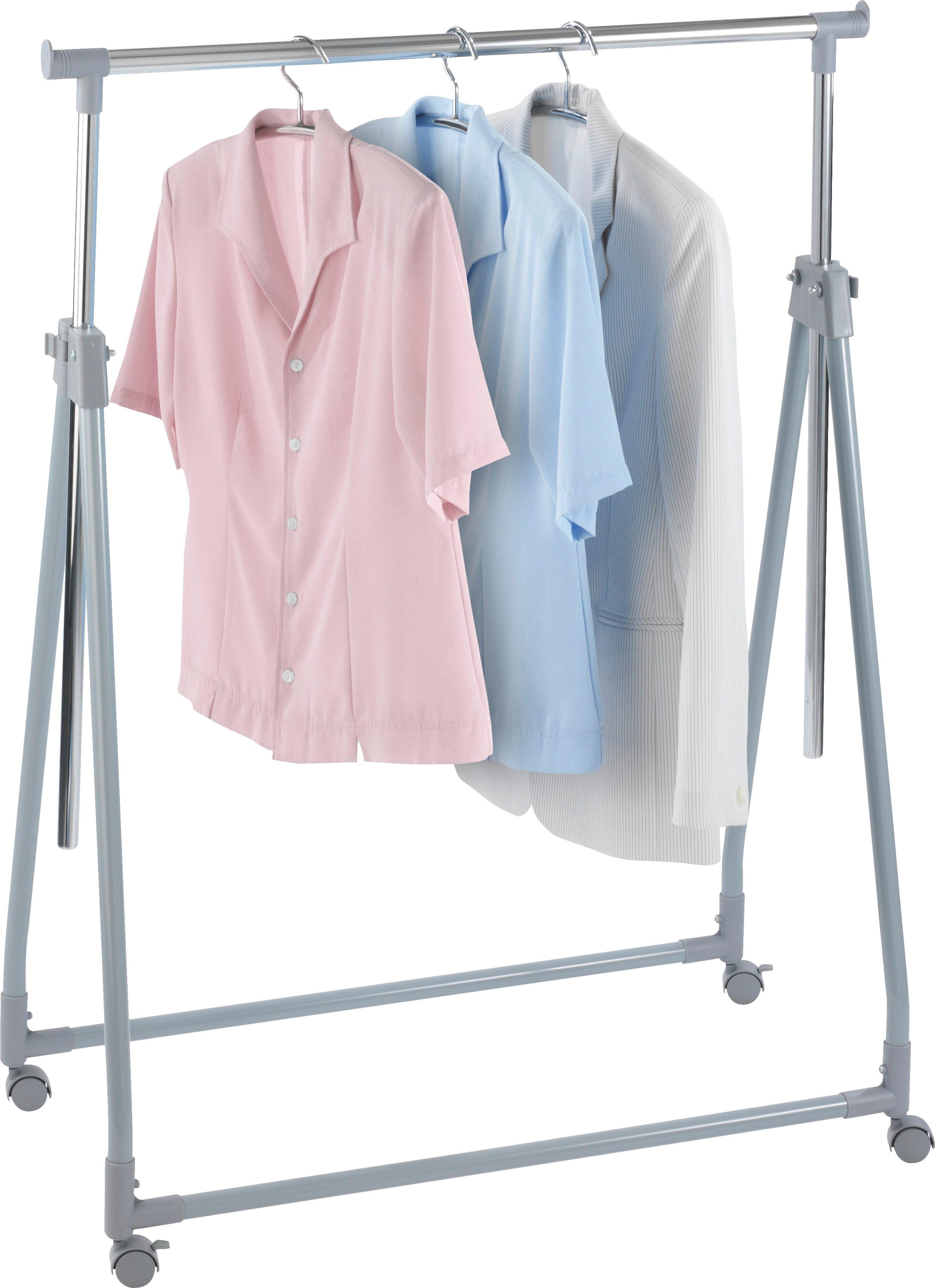 WENKO Kleiderständer klappbar, höhenverstellbar