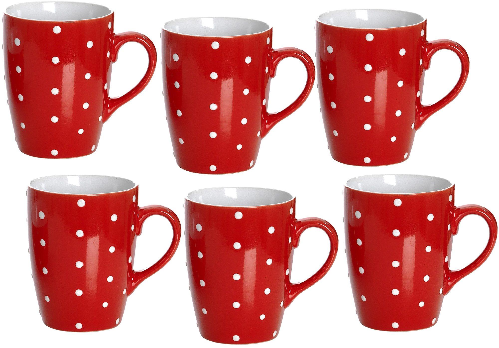 Kaffeebecher-Set Porzellan, »Pinto«