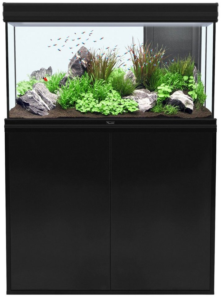 Aquarien-Set »Fusion 100 LED« in schwarz