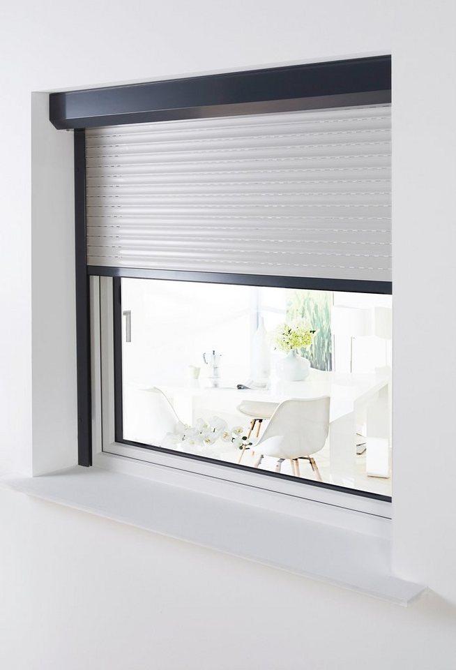 Aluminium »Vorbau Rollladen« Sondermaß Breite, Höhe: 100 cm, anthrazit-grau in anthrazit