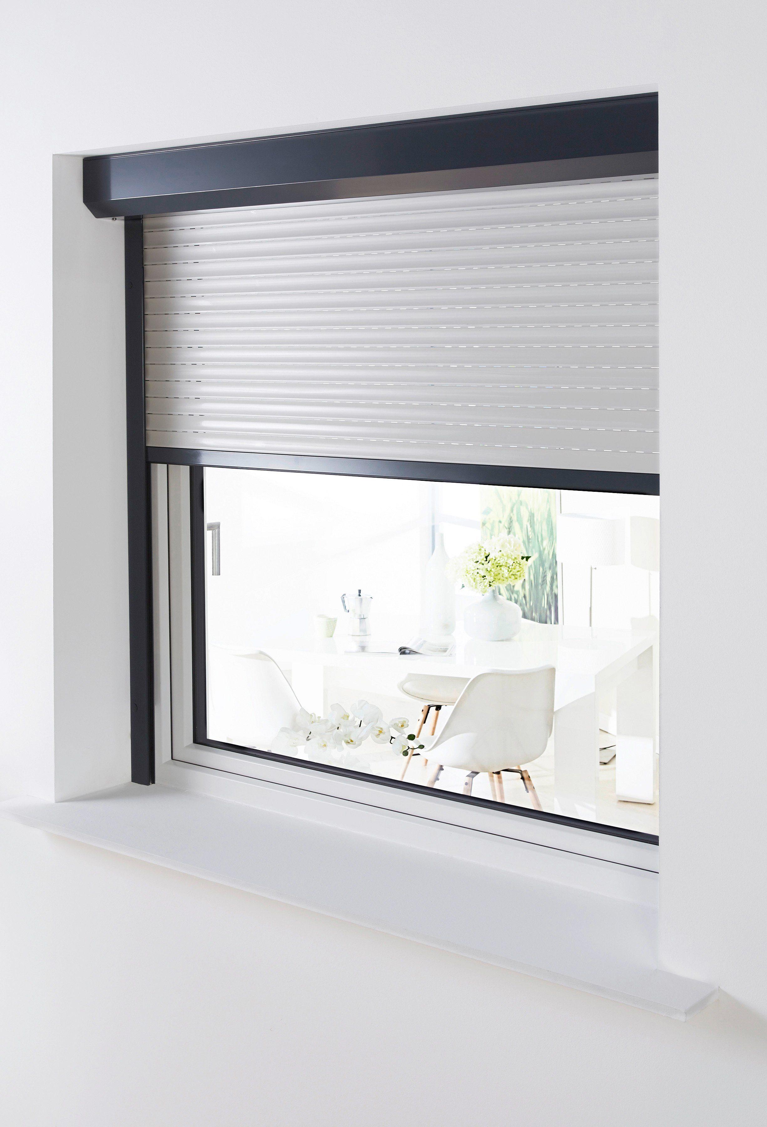 Aluminium »Vorbau Rollladen« Sondermaß Breite, Höhe: 100 cm, anthrazit-grau