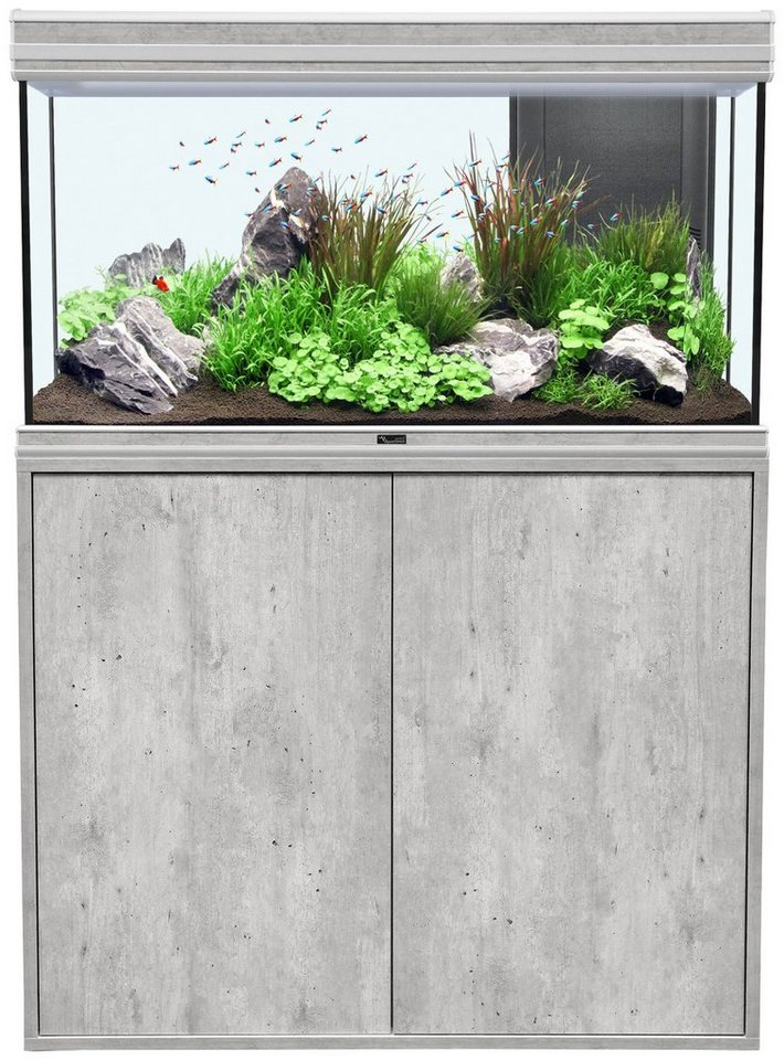 Aquarien-Set »Fusion 100 LED« in grau