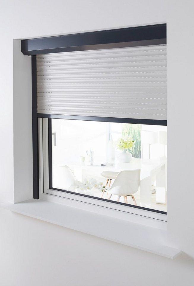 Aluminium »Vorbau-Rollladen« Sondermaß Breite, Höhe: 235 cm, anthrazit-grau in anthrazit