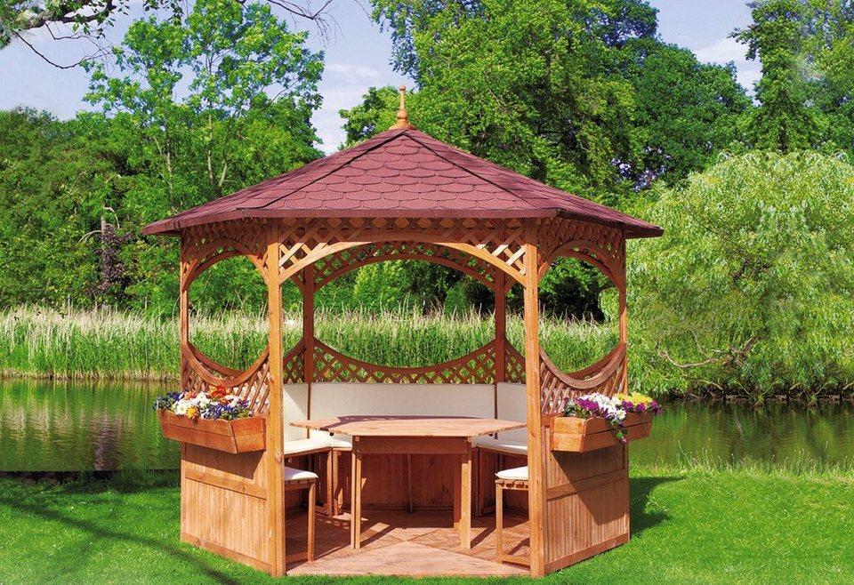 Set: Pavillon-Set »Palma« in braun