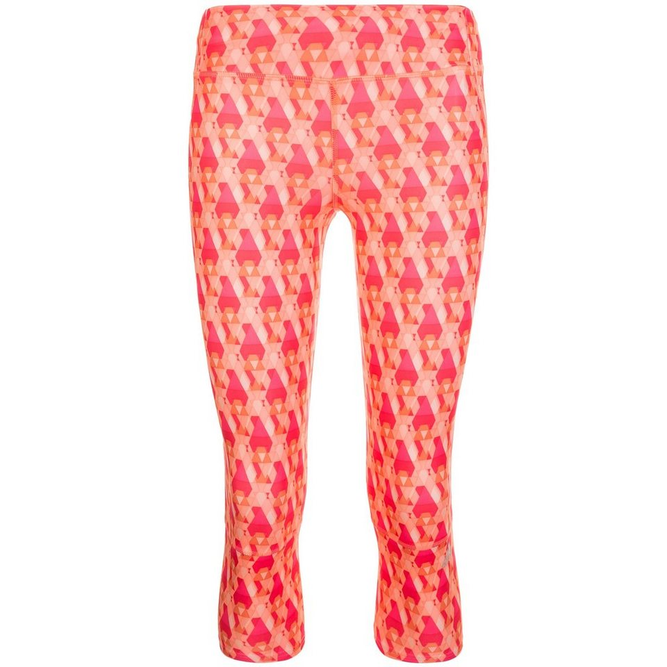 adidas Performance Supernova Graphic 3/4 Trainingstight Damen in koral / rosa
