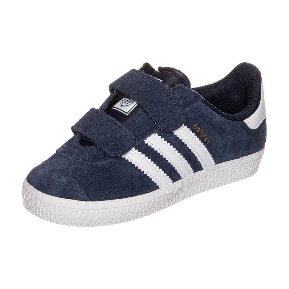 adidas Originals Gazelle 2.0 Sneaker Kleinkinder in dunkelblau / weiß