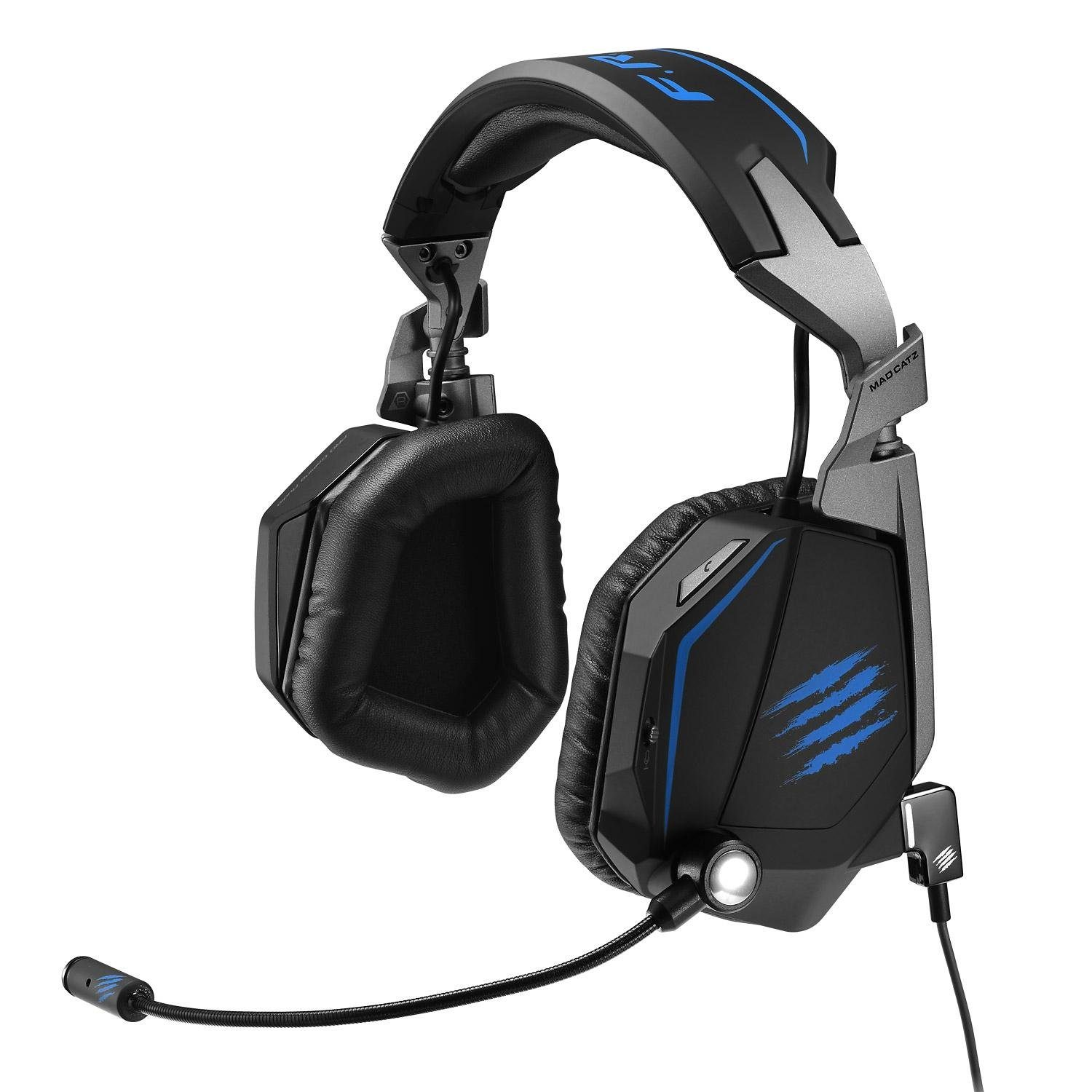 Mad Catz F.R.E.Q. TE 7.1 Surround Sound Headset in Matt Schwarz »PC«