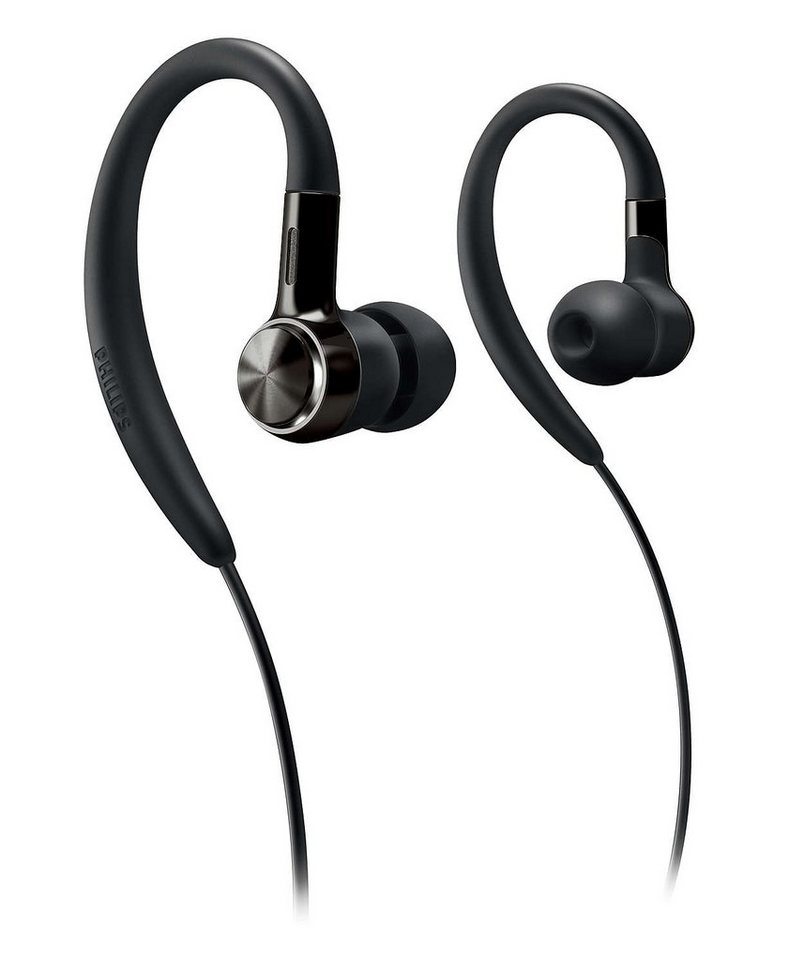 Philips Ear-Hook / Sport-Kopfhörer »SHS8200/10« in schwarz