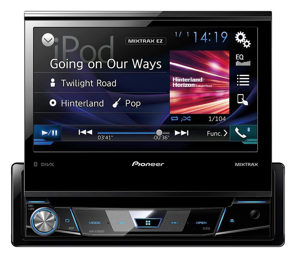 PIONEER 1-DIN Bluetooth Moniceiver »AVH-X7800BT« in schwarz