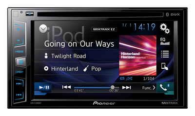 PIONEER 2-DIN Bluetooth Moniceiver »AVH-X2800BT« Sale Angebote