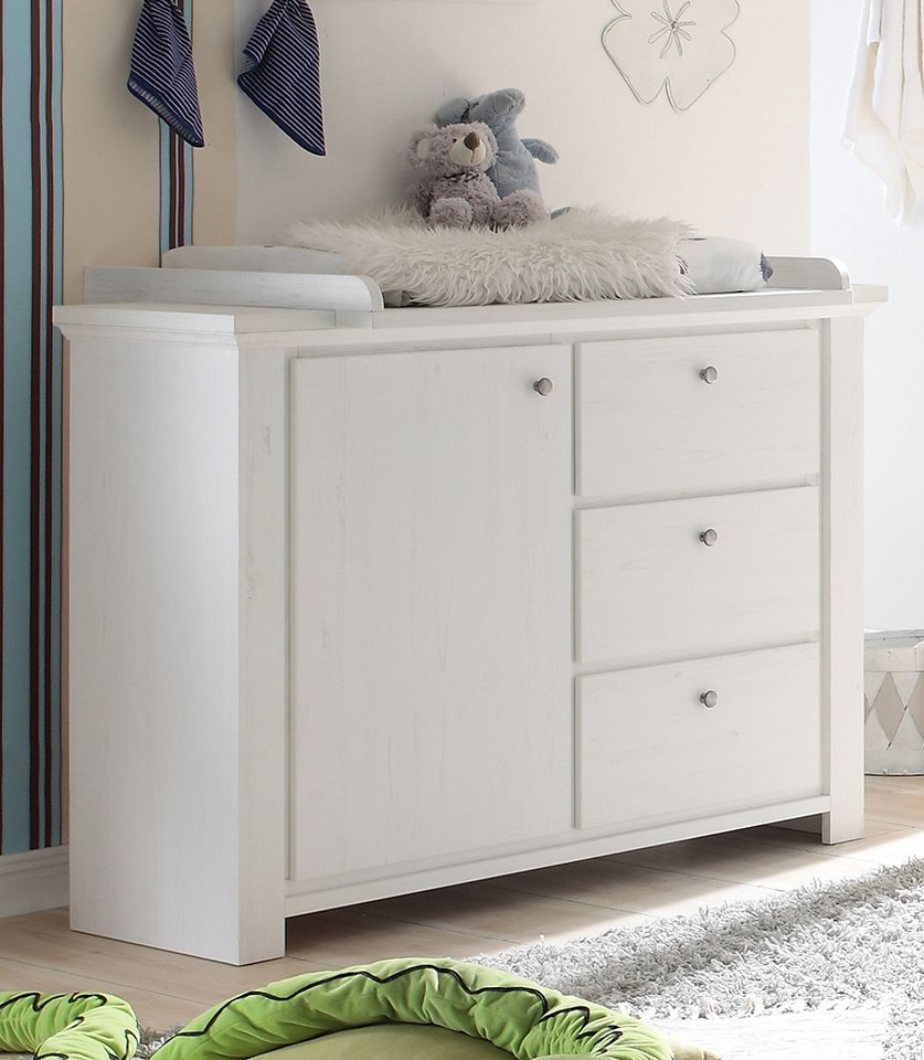 wickelkommode zur babym bel serie dandy in anderson pine online kaufen otto. Black Bedroom Furniture Sets. Home Design Ideas