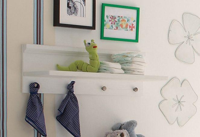 Wandregal zur Babymöbel Serie »Dandy«, in anderson pine