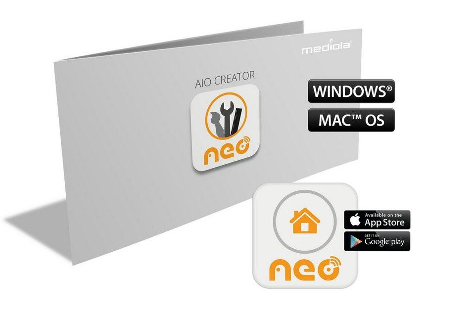 Mediola Smart Home Steuerung & Komfort »AIO Creator NEO mediola Edition« in grau