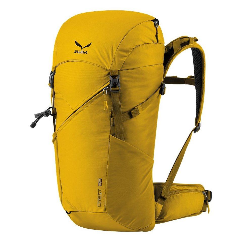 Salewa Sport- und Freizeittasche »Crest 28 Backpack« in gelb