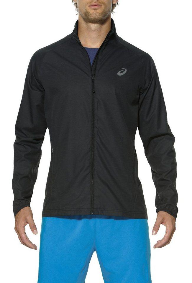 Asics Trainingsjacke »Lite-Show Jacket Men« in schwarz