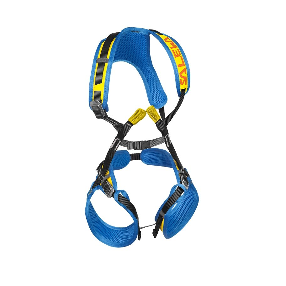 Salewa Klettergurt »Rookie FB Complete Harness Kids« in blau