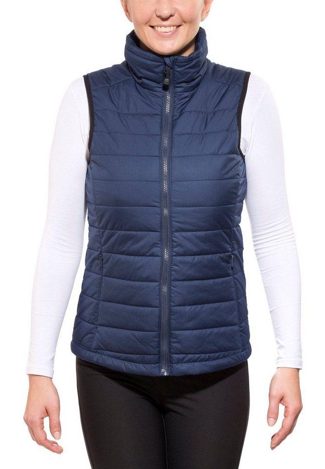 axant Weste »Alps Quilt Vest Women« in blau