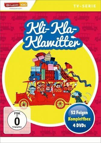 DVD »Kli-Kla-Klawitter - Komplettbox (4 Discs)«