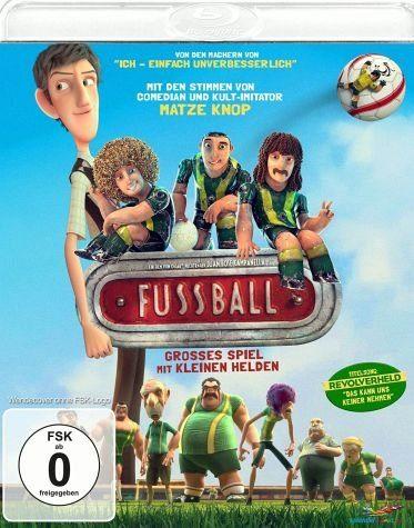 Blu-ray »Fußball - Großes Spiel mit kleinen Helden«