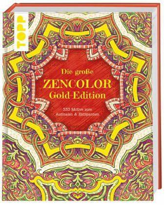 Gebundenes Buch »Die große ZENCOLOR Gold-Edition«