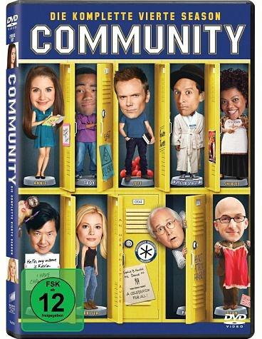 DVD »Community - Die komplette vierte Season (2 Discs)«