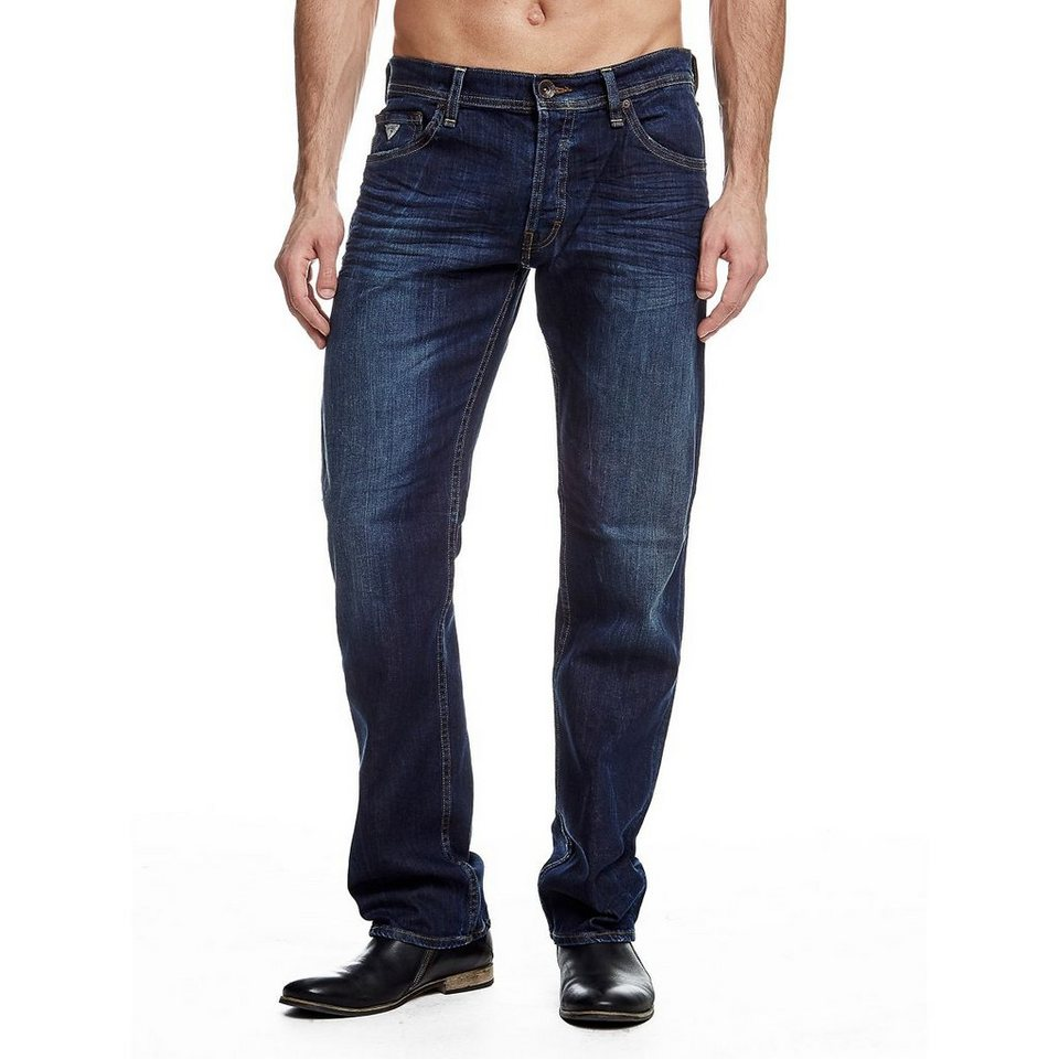 Guess Jeans »Regular Straight Blue Vine« in Blau