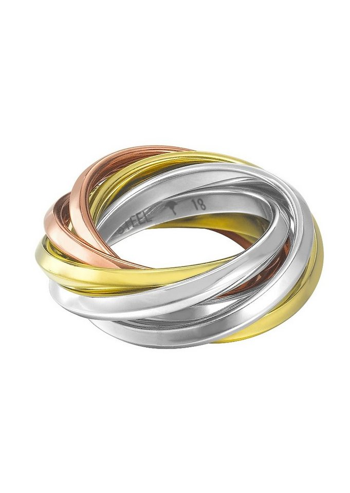 JOOP! Ring, »JP-EMBRACE, JPRG10633A« in tricolor