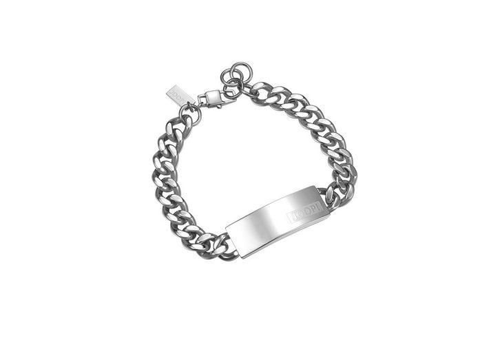 JOOP! Armband, »JP-LOGO SIGNATURE, JPBR10616A215«