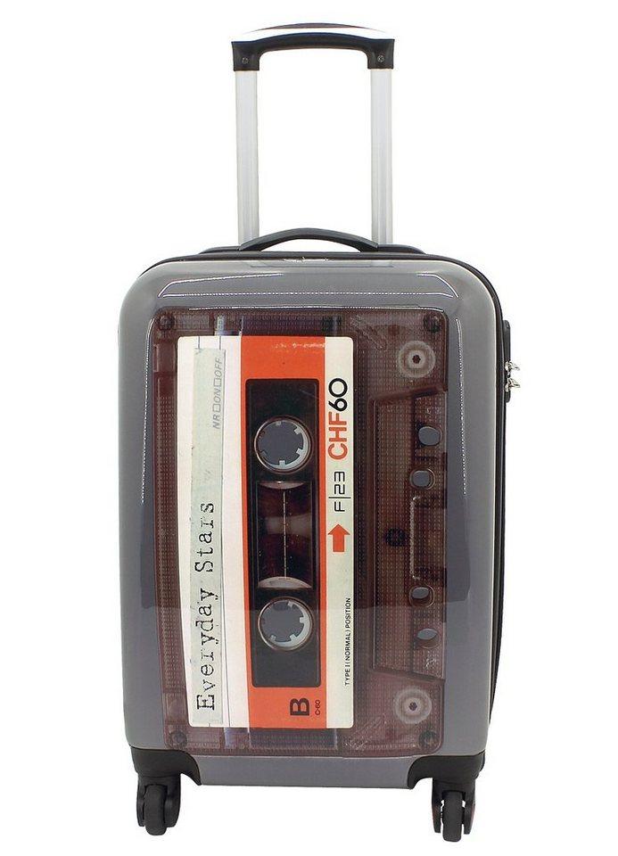F23™ Hartschalen-Trolley mit 4 Rollen, »Tape« in grau