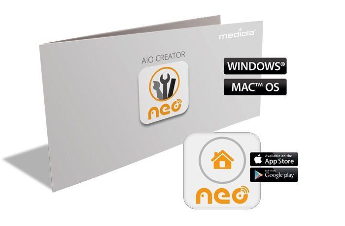 Mediola Smart Home Steuerung & Komfort »AIO CREATOR NEO MAX! Edition«