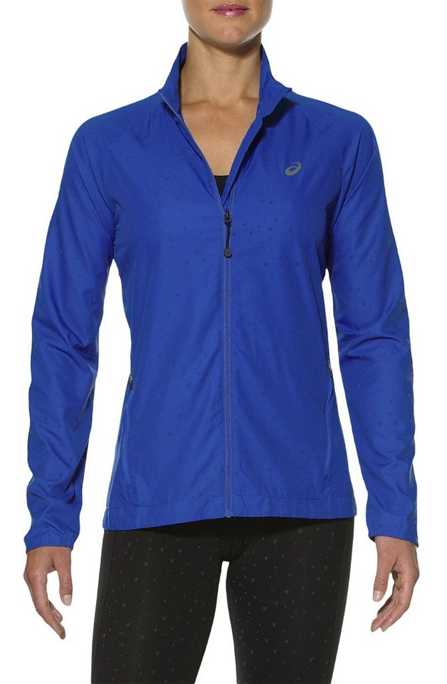 Asics Trainingsjacke »Lite-Show Jacket Women« in blau