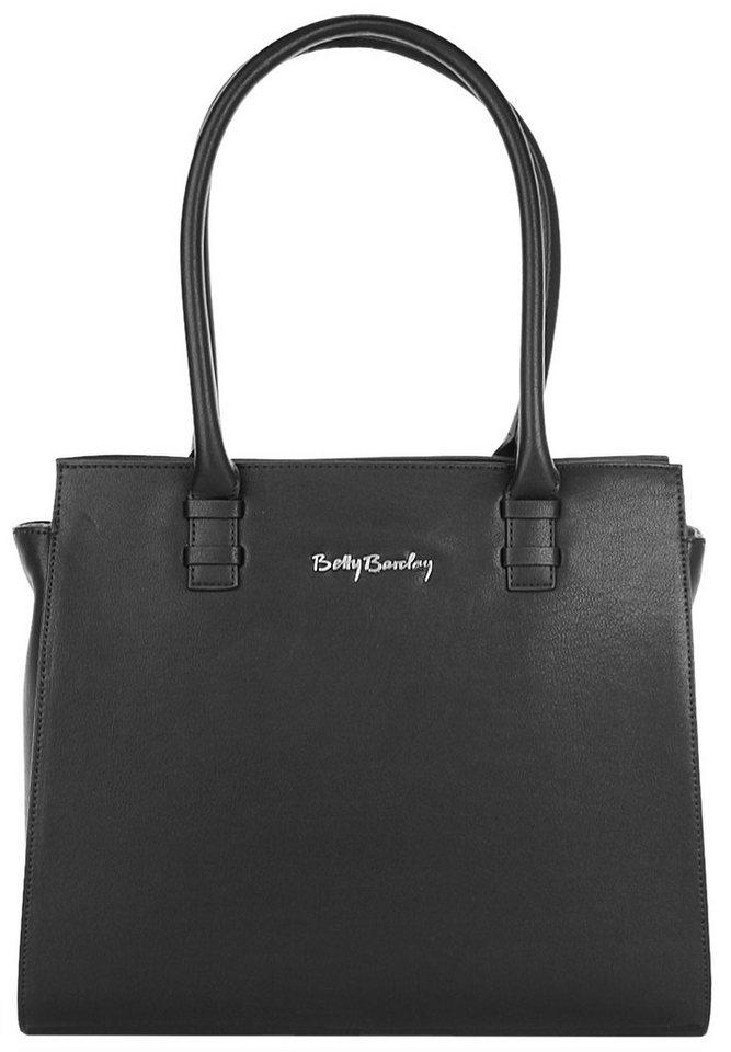 Betty Barclay Damen Handtasche in schwarz