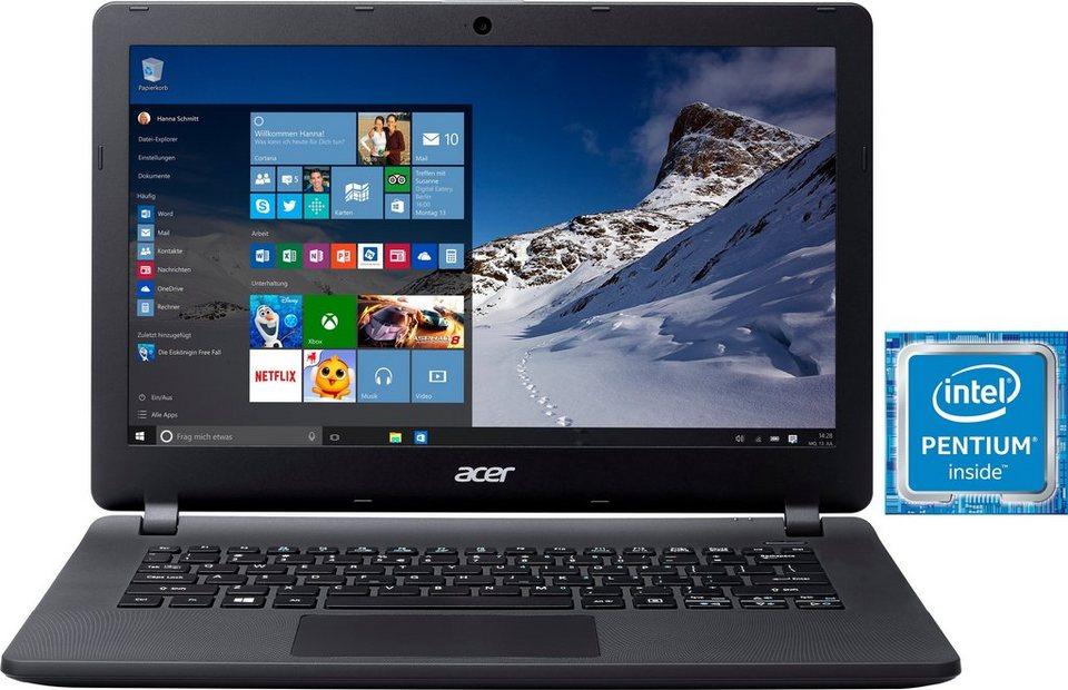 Acer Aspire ES1-331-P345 Notebook, Intel® Pentium™, 33,8 cm (13,3 Zoll), 500 GB Speicher in schwarz