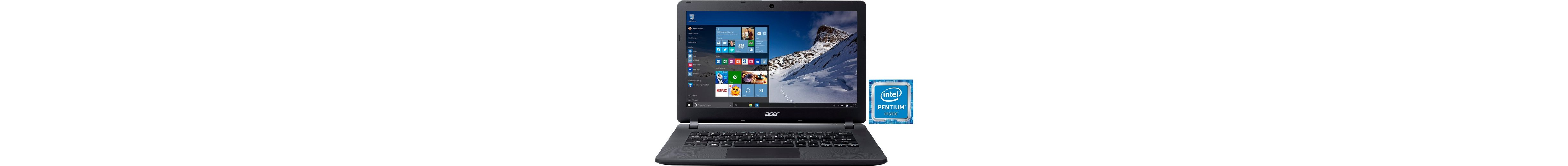 Acer Aspire ES1-331-P345 Notebook, Intel® Pentium™, 33,8 cm (13,3 Zoll), 500 GB Speicher