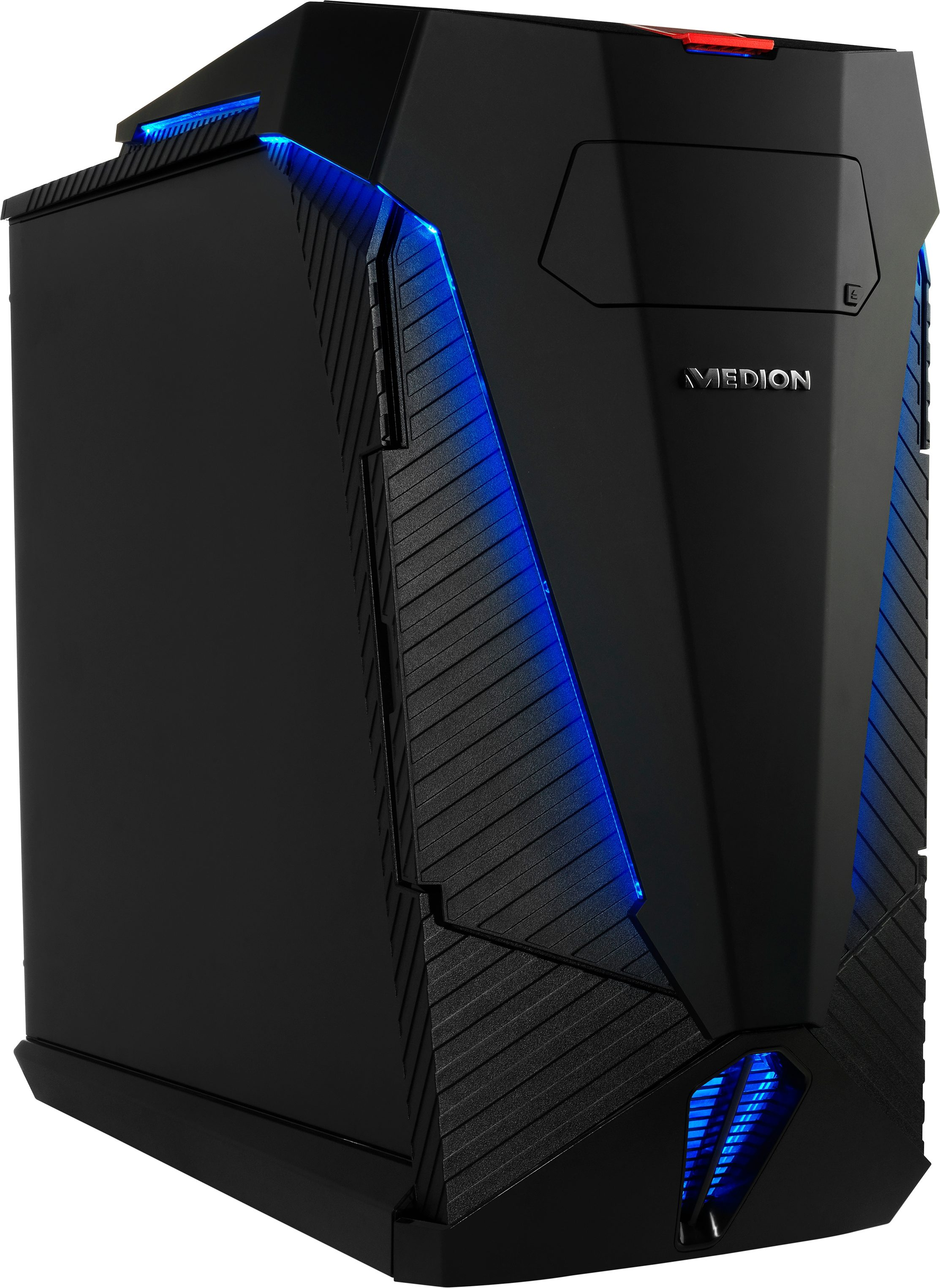 Medion® Erazer X5338F, B630 DE Gaming-PC, Intel® Core™ i7, 16384 MB DDR3-RAM, 4240 GB Speicher