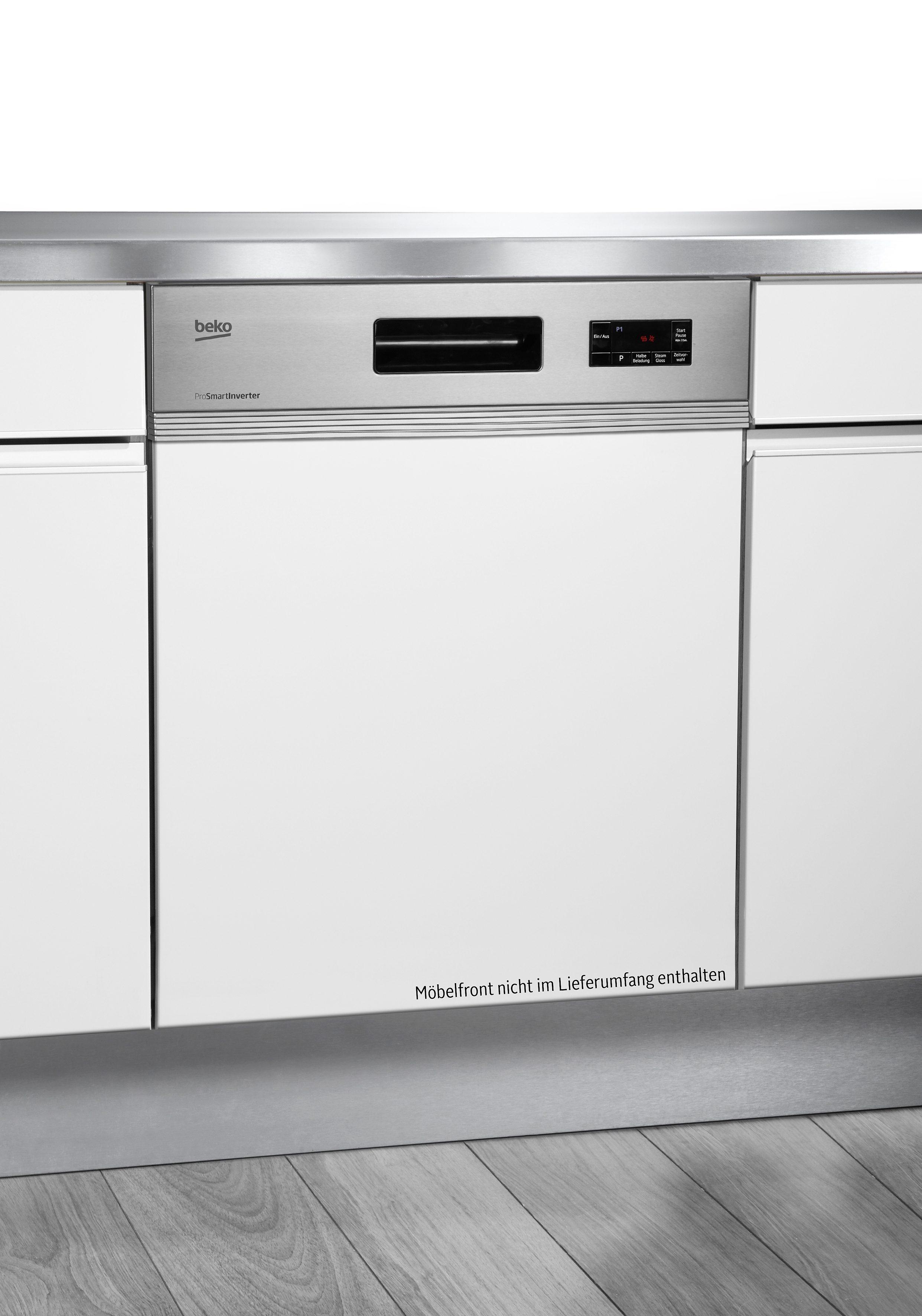 Beko Integrierbarer Einbau-Geschirrspüler DSN16220X, A++, 10 Liter, 12 Maßgedecke