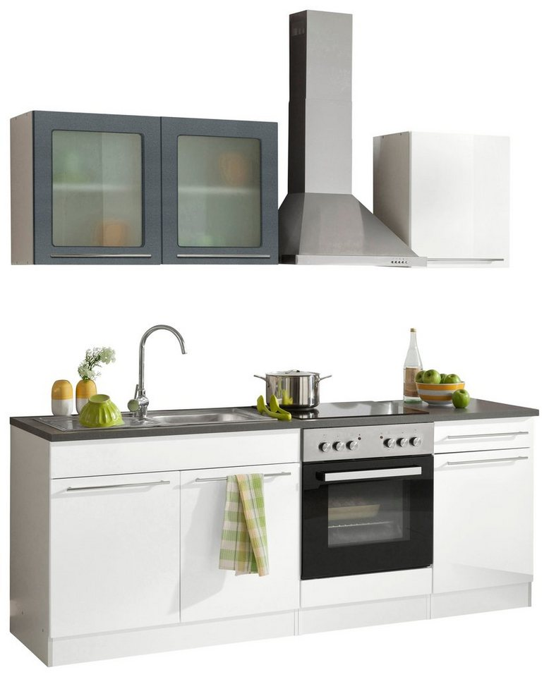 k chenzeile held m bel malta ohne e ger te breite 210 cm online kaufen otto. Black Bedroom Furniture Sets. Home Design Ideas