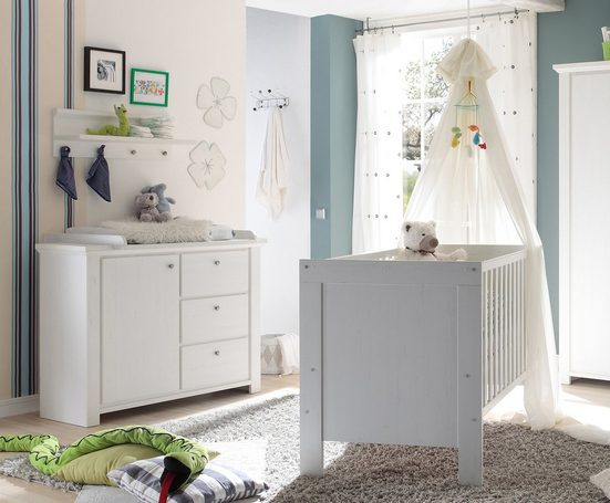 Babymöbel-Set »Dandy«, (Spar-Set, 2-tlg), Bett + Wickelkommode