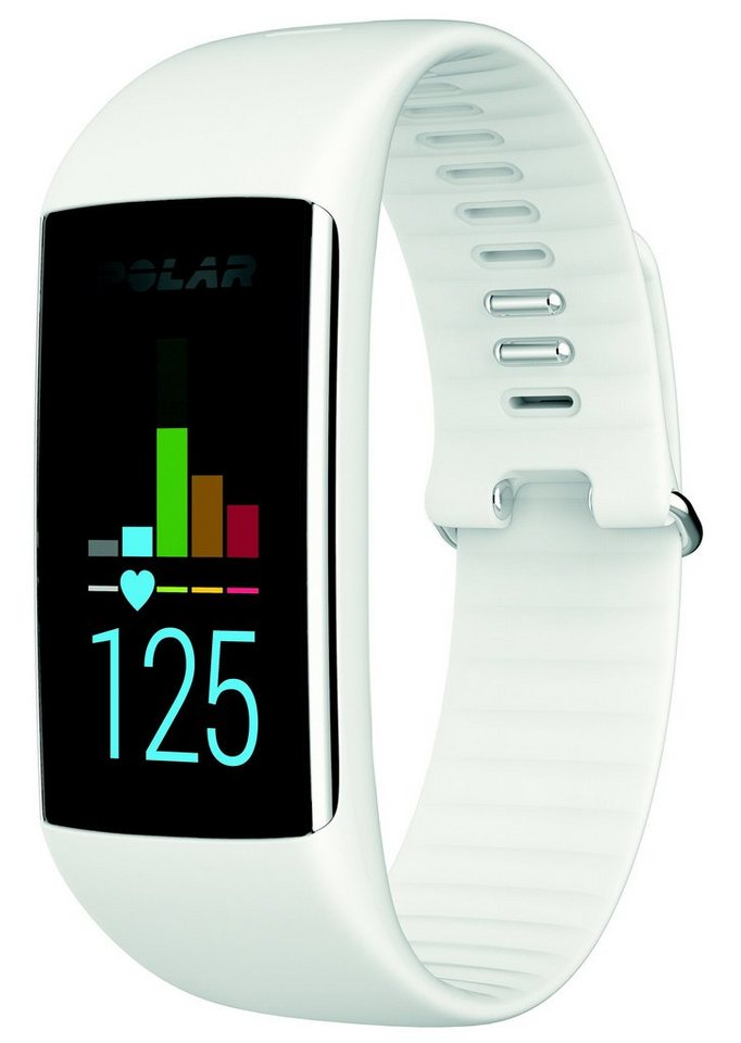 Polar Fitness Tracker, weiß, »A360« in weiß