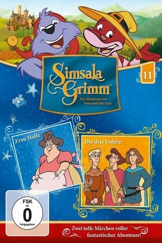 DVD »SimsalaGrimm 11 - Frau Holle / Die drei Federn«