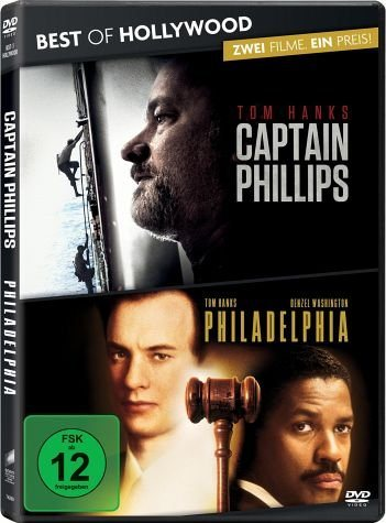 DVD »Captain Phillips , Philadelphia Collector's Box«