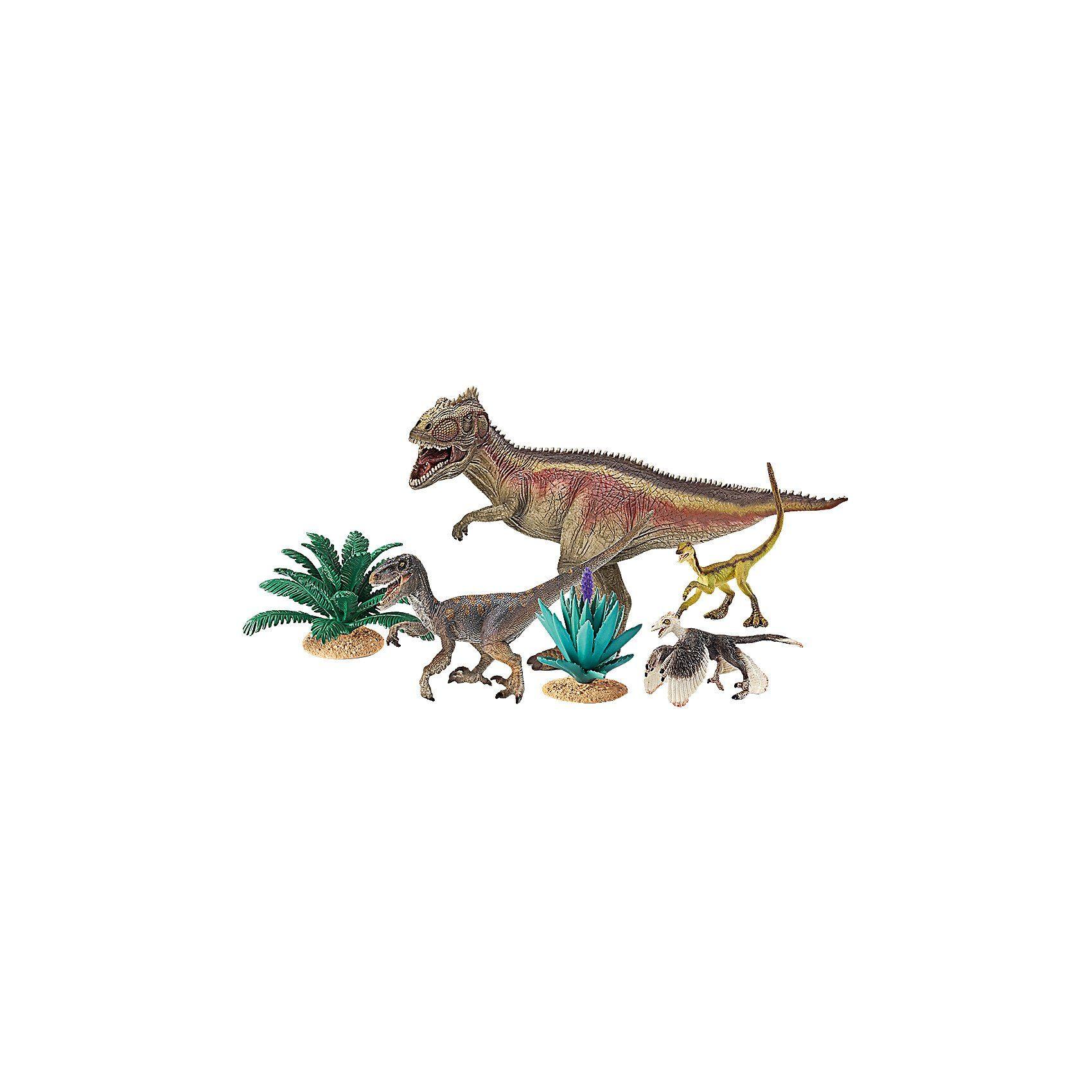 Schleich 42264 Dinosaurs: Giganotosaurus und Velociraptor