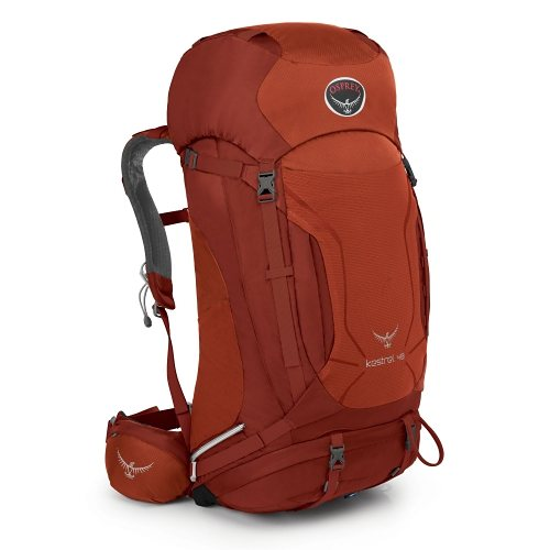 Osprey Rucksäcke »Kestrel 48 S/M« in dragon red