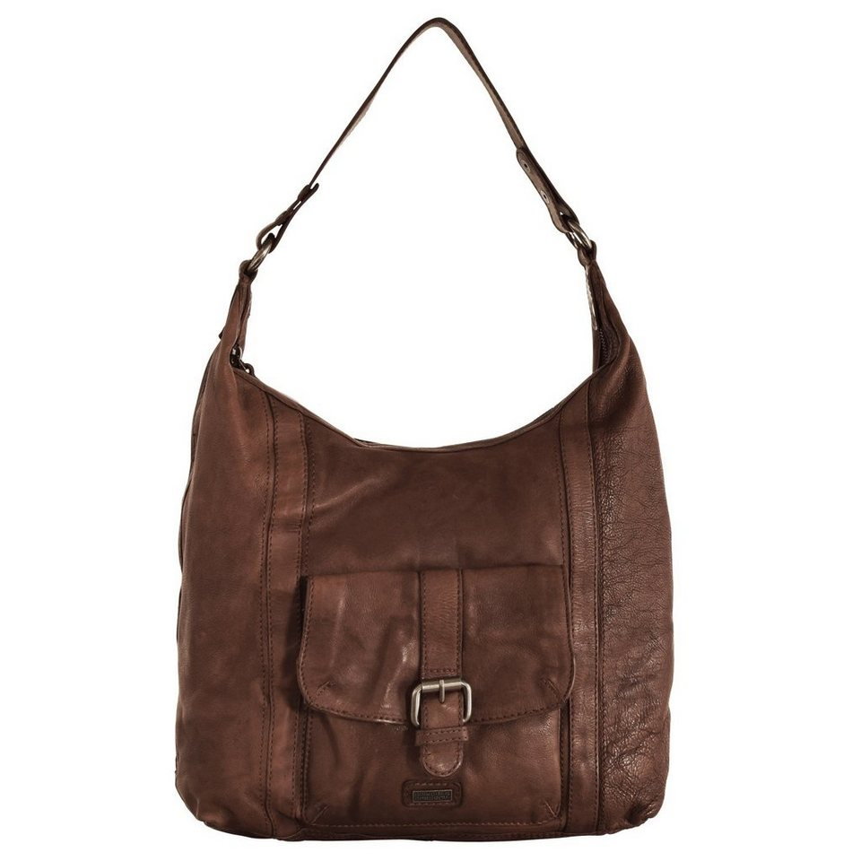 Spikes & Sparrow Arizona Shopper Tasche 30 cm in chocolate