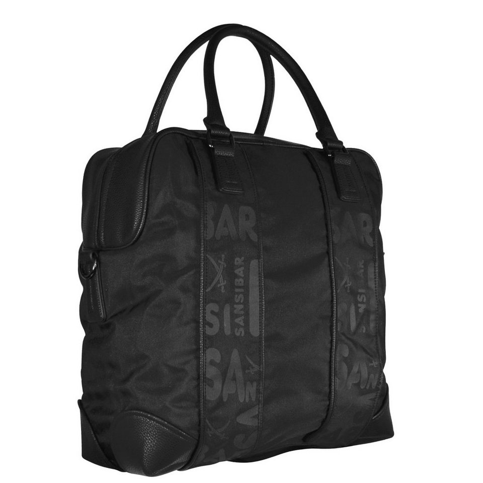Sansibar Joran Shopper Tasche 38 cm in black