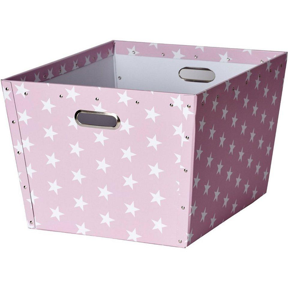 Aufbewahrungsbox Apollo, rosa in rosa