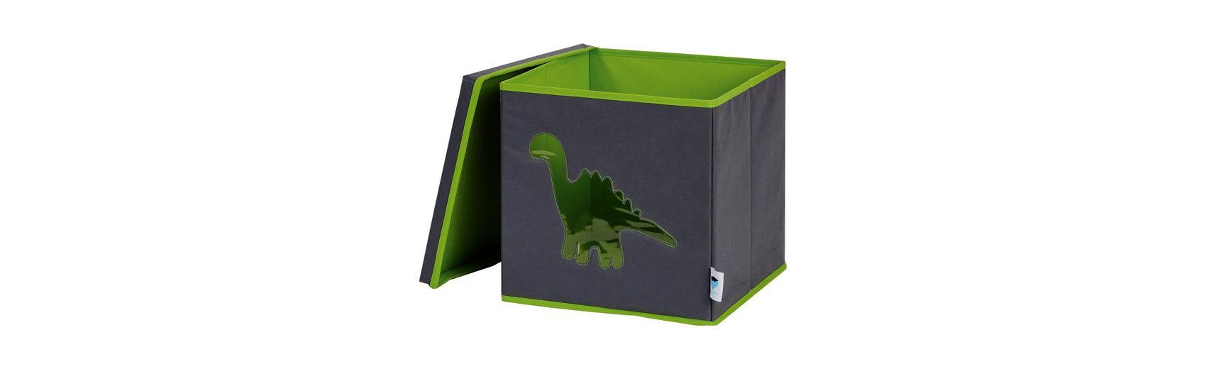 Aufbewahrungsbox Dino, grün
