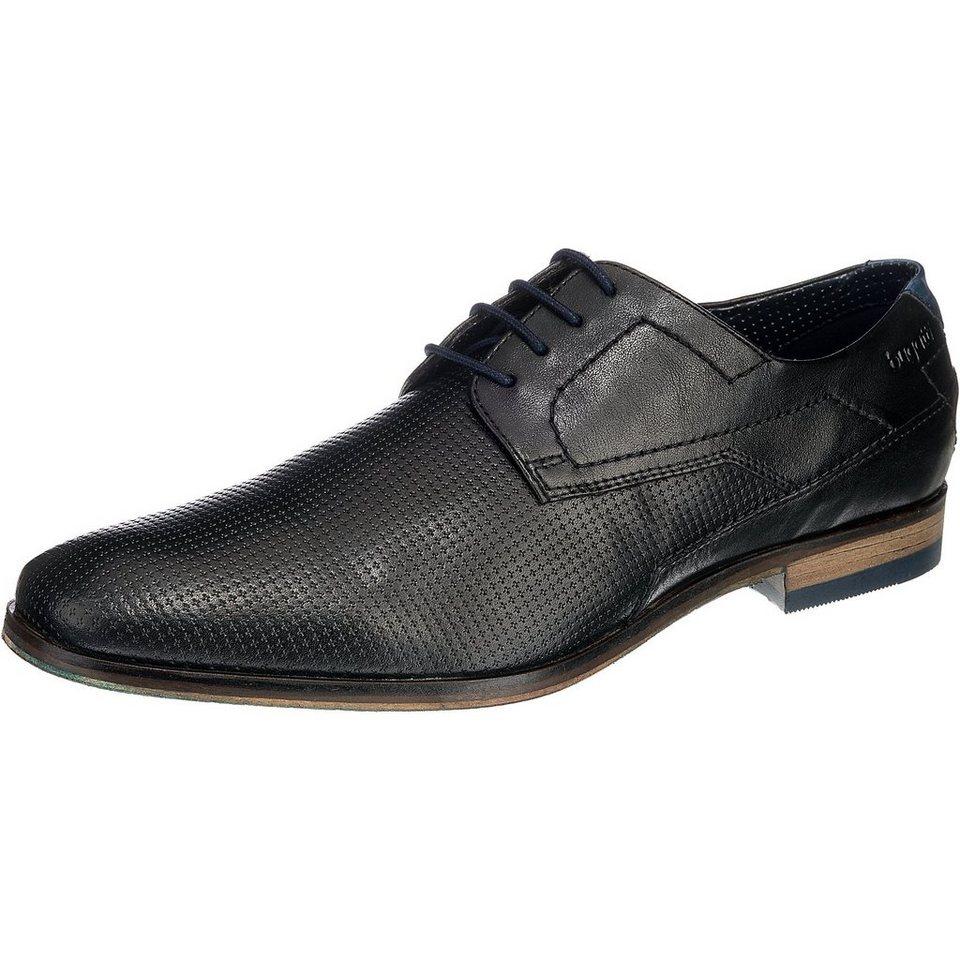 bugatti Business Schuhe in schwarz-kombi